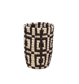 Kazi Tiny Black Vase
