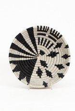 Kazi Small Black White Fani Basket