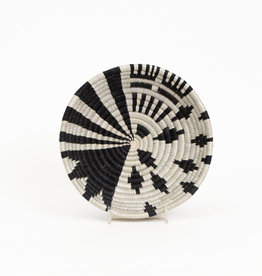 Kazi Small Black White Fani Basket