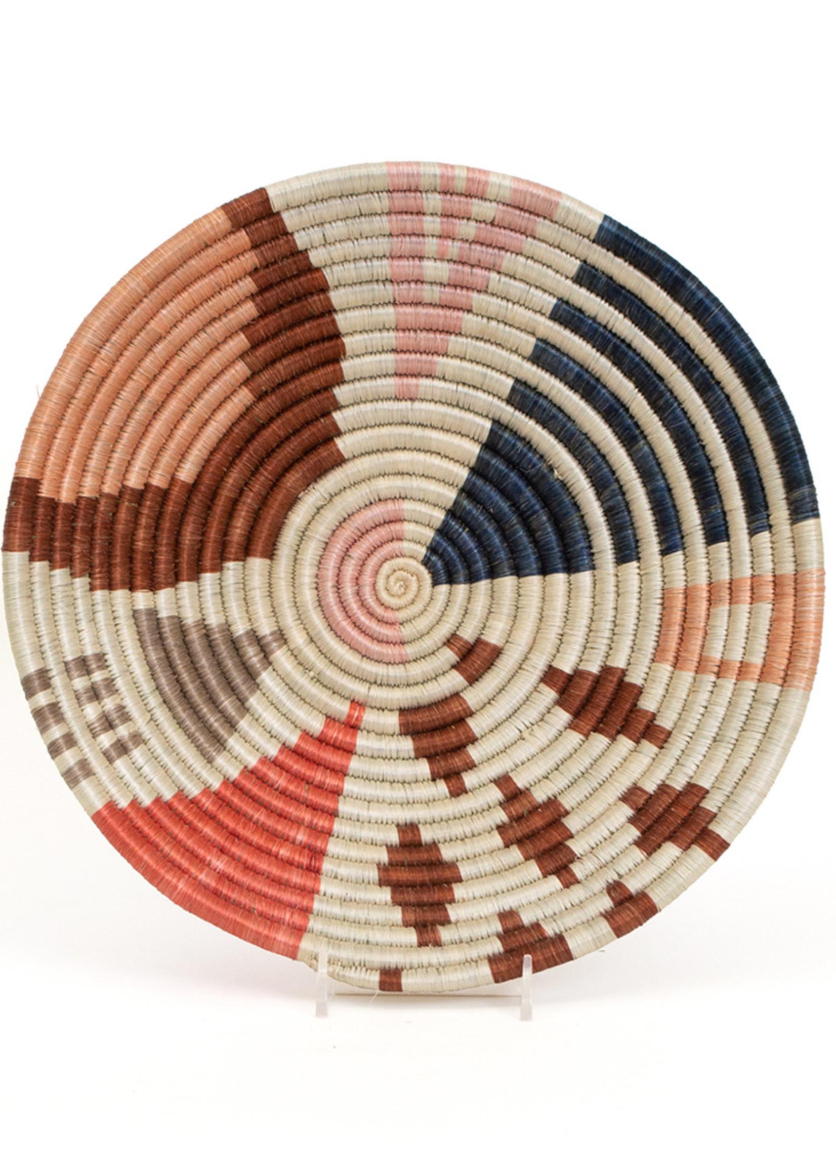 Kazi Medium Coral Cheza Basket
