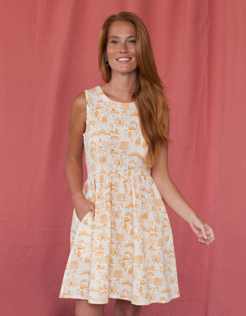 Mata Traders Voyager Sand Dilly Dally Dress