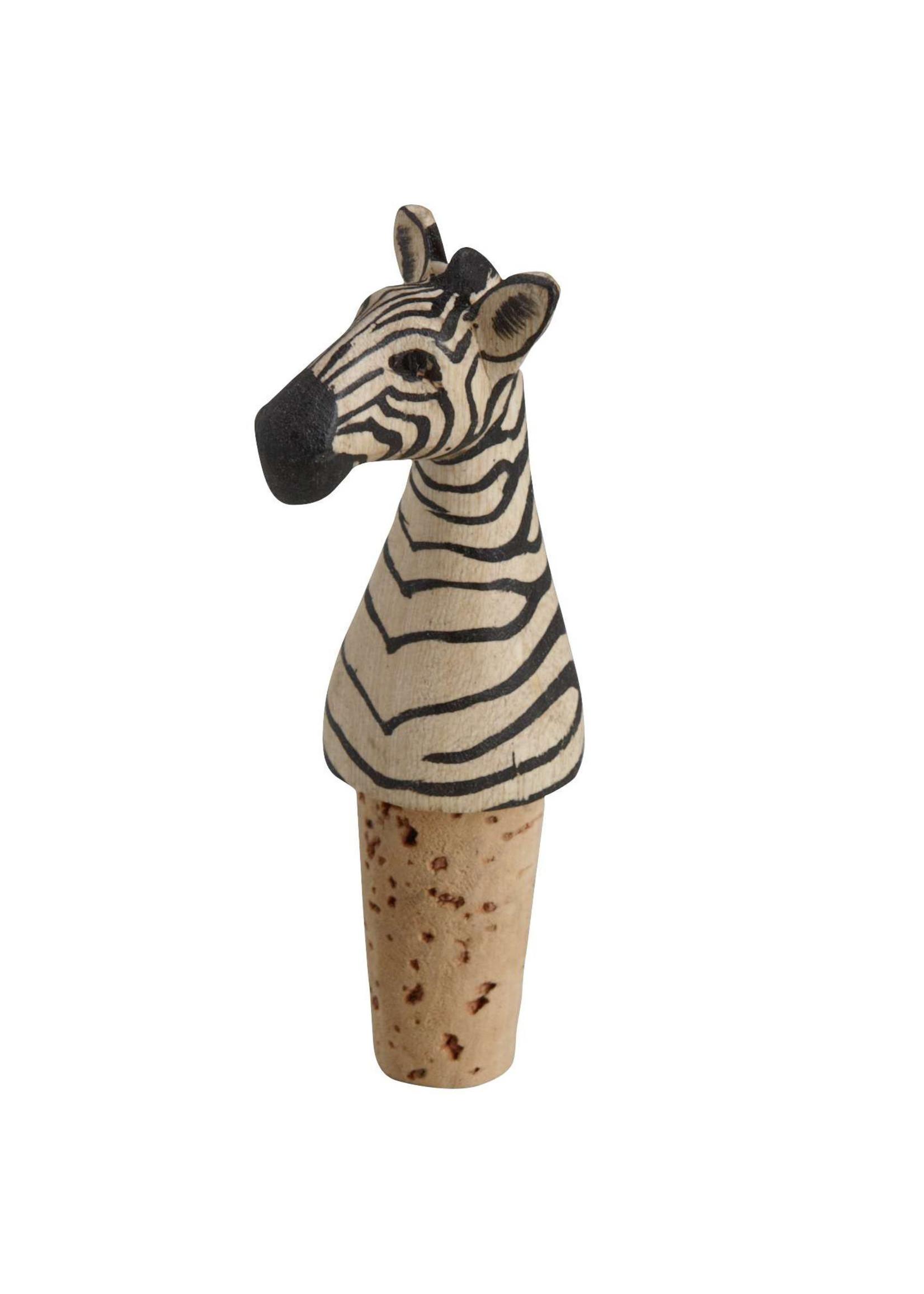 Zebra Bottle Topper