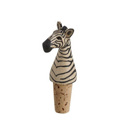Zebra Bottle Topper