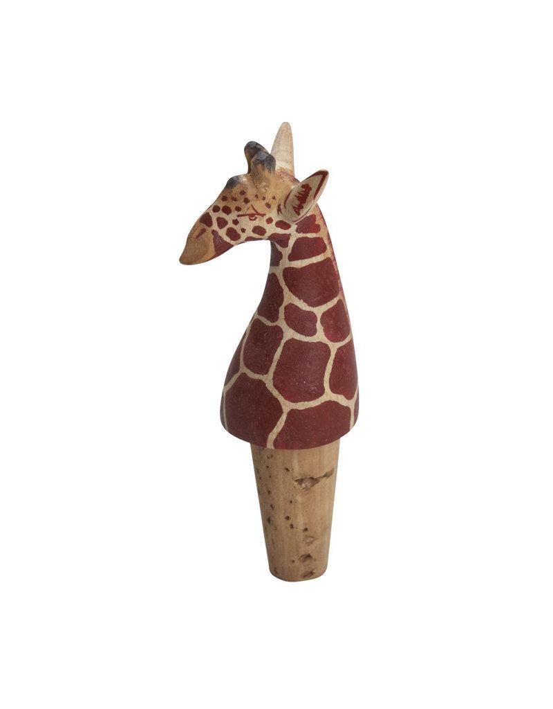 Giraffe Bottle Topper