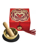 dZi Red Root Chakra Mini Meditation Bowl