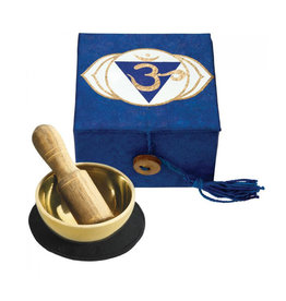 dZi Dark Blue Third Eye Chakra Mini Meditation Bowl