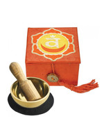 dZi Orange Sacral Chakra Mini Meditation Bowl