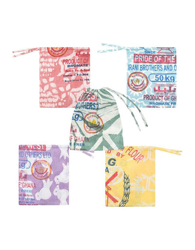 Global Mamas Large Recycled Flour Sack Produce Bag