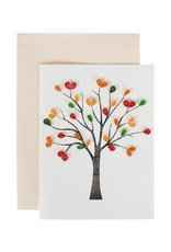 Quilled Love Tree Card