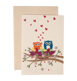 Owl's Love Nest Card