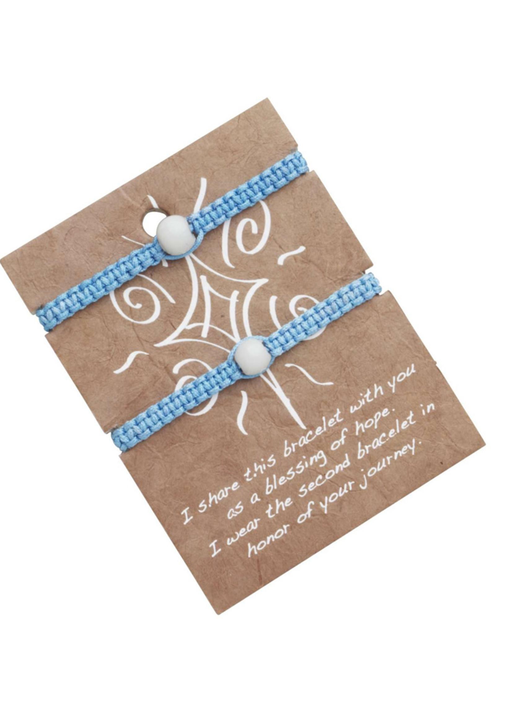 Blue Friendship Bracelet Set