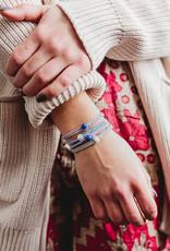 Purple Friendship Bracelet Set