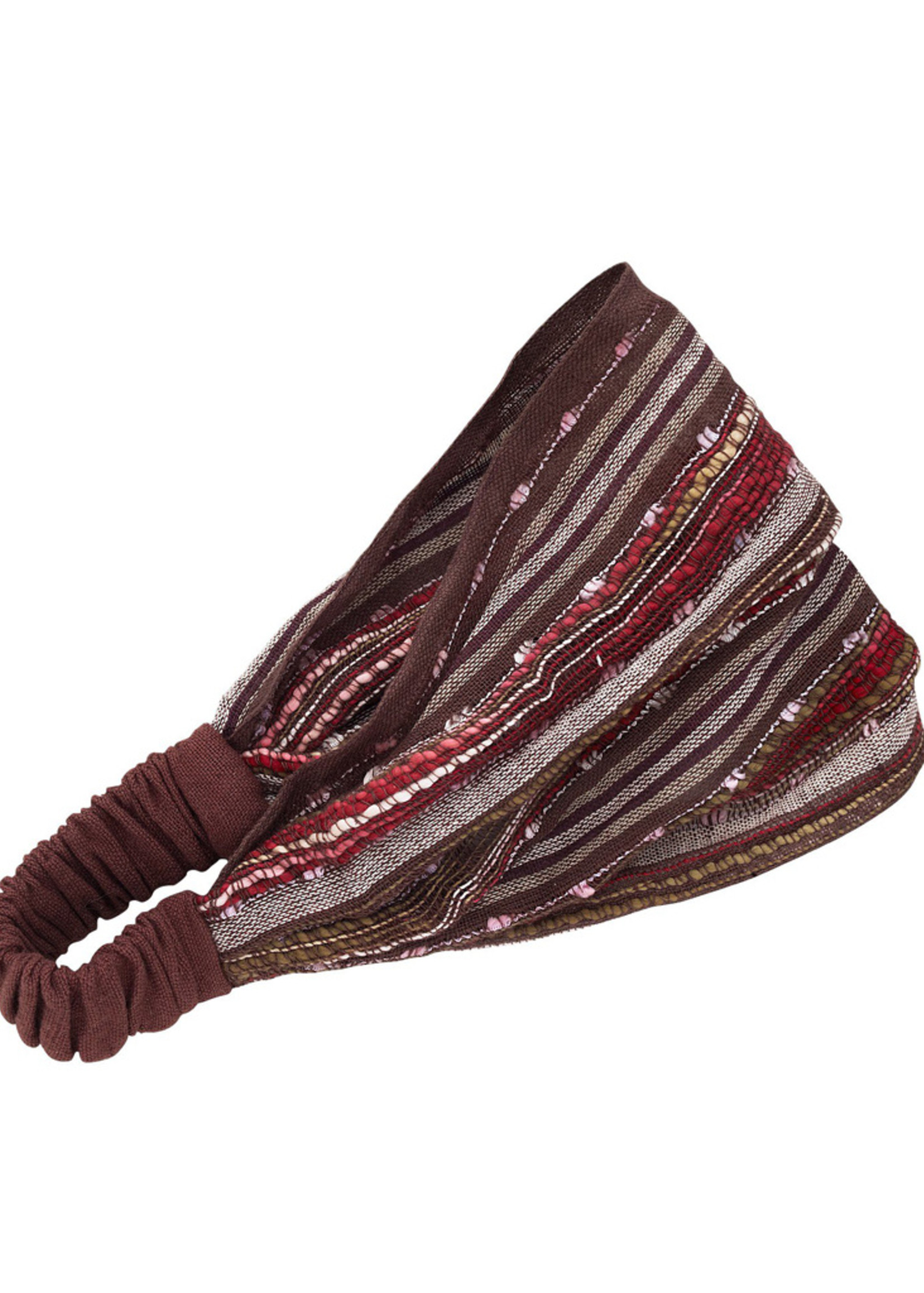 Brown Stripe Headband