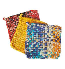Woven Sari Hot Mat