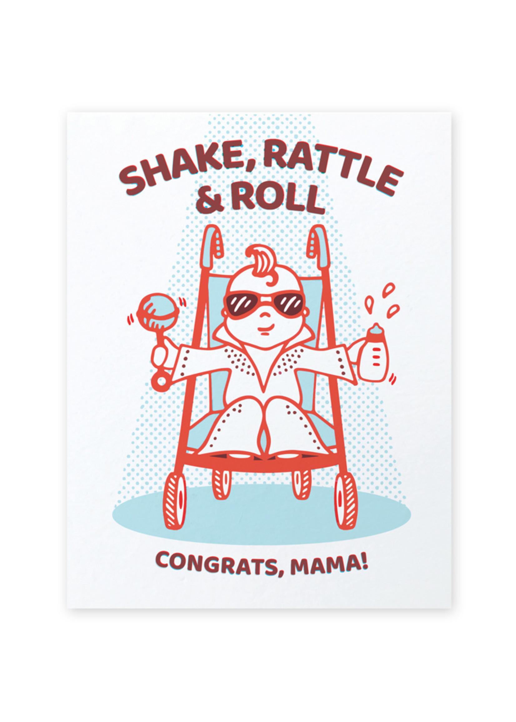 Good Paper Baby Elvis Congrats Card