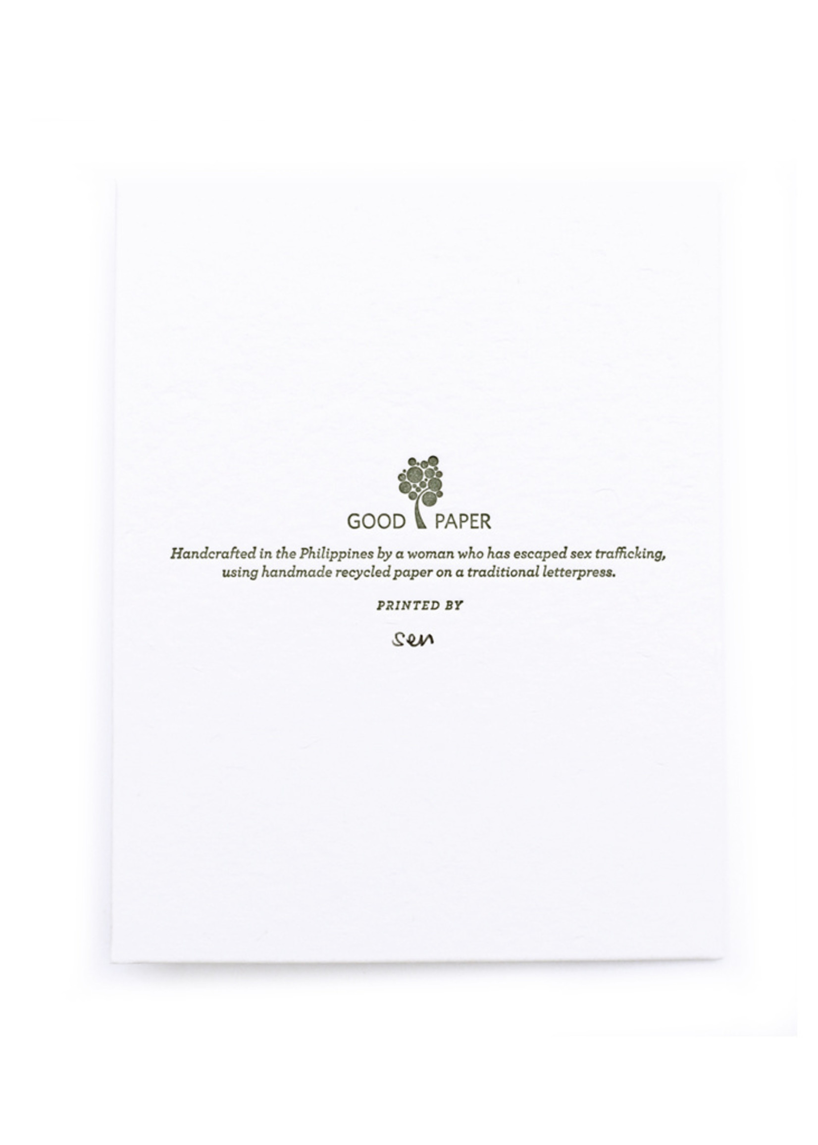 Good Paper Best Wishes Wedding Card