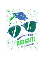 Good Paper Bright Shades Grad Card