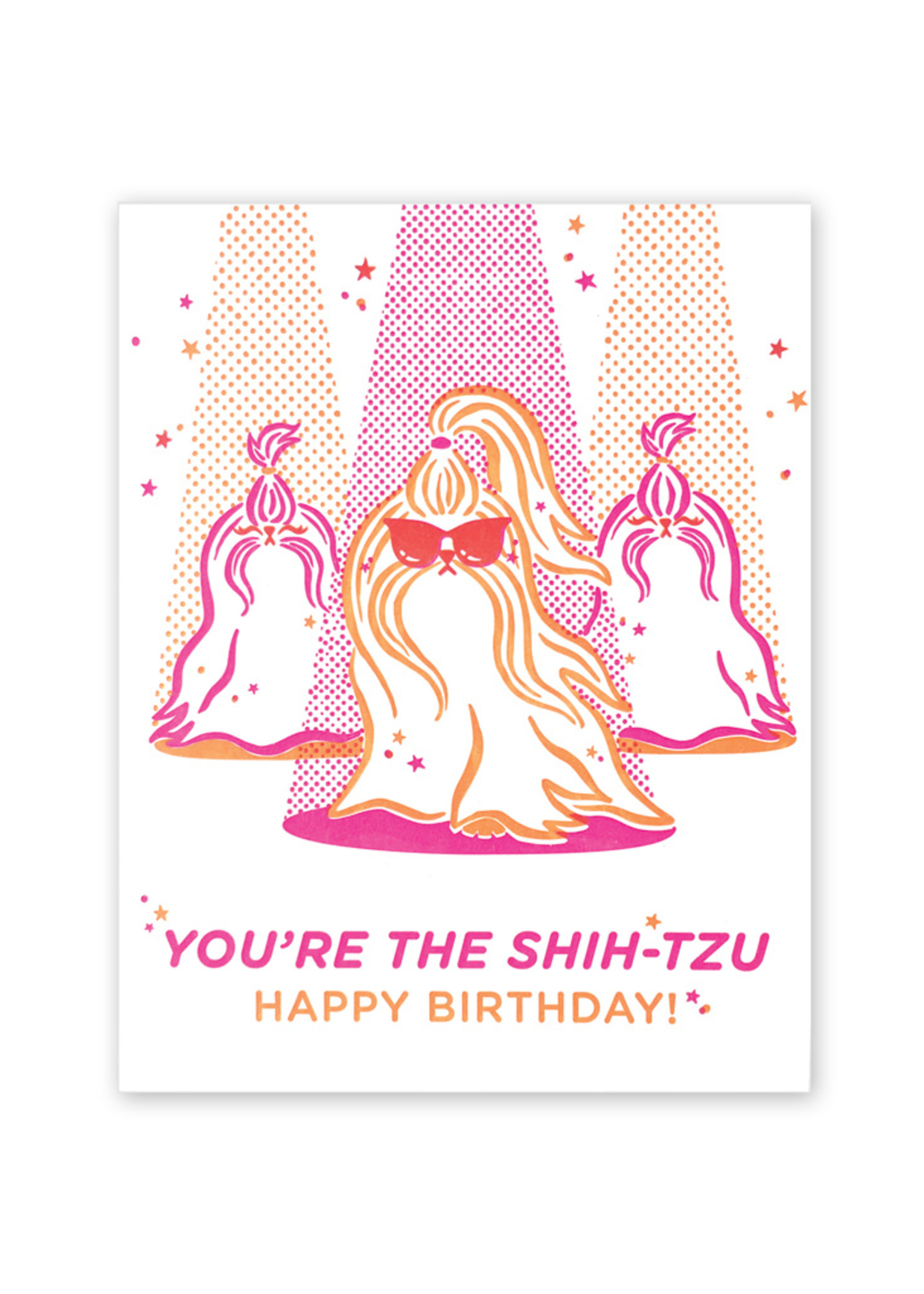 Good Paper You're The Shih-Tzu Birthday Card