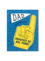 Good Paper Dad GOAT Card