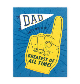 Good Paper Dad GOAT Card
