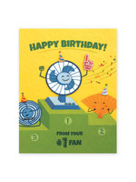 Good Paper Number 1 Fan B-day Card
