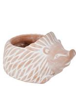 Small Ceramic Hedgehog Planter