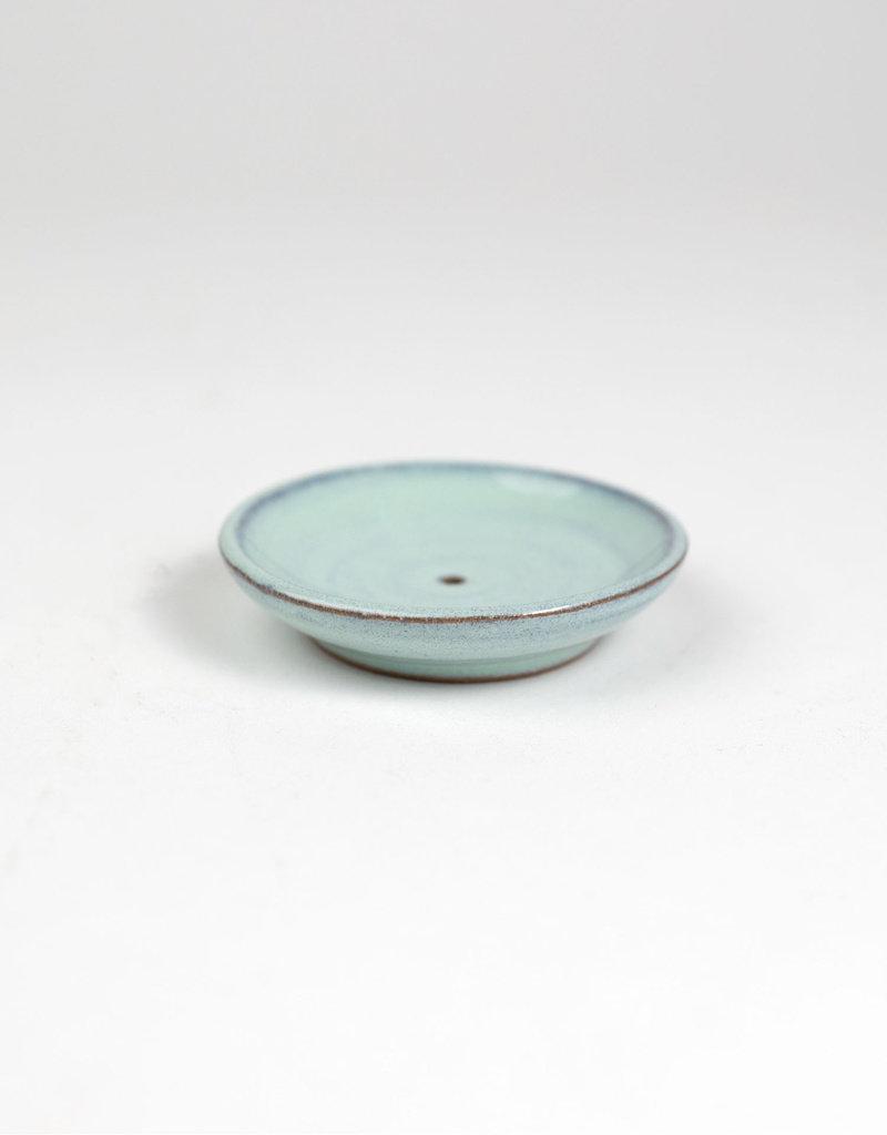 Mint Dish Incense Holder