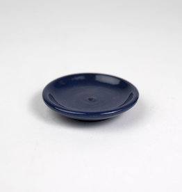 Deep Blue Dish Incense Holder