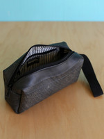 Ganesh Himal Recycled Tire Toiletry Bag