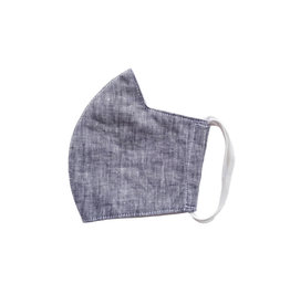 Linen Face Mask - Grey