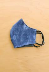Malia Designs Distressed Denim Face Mask