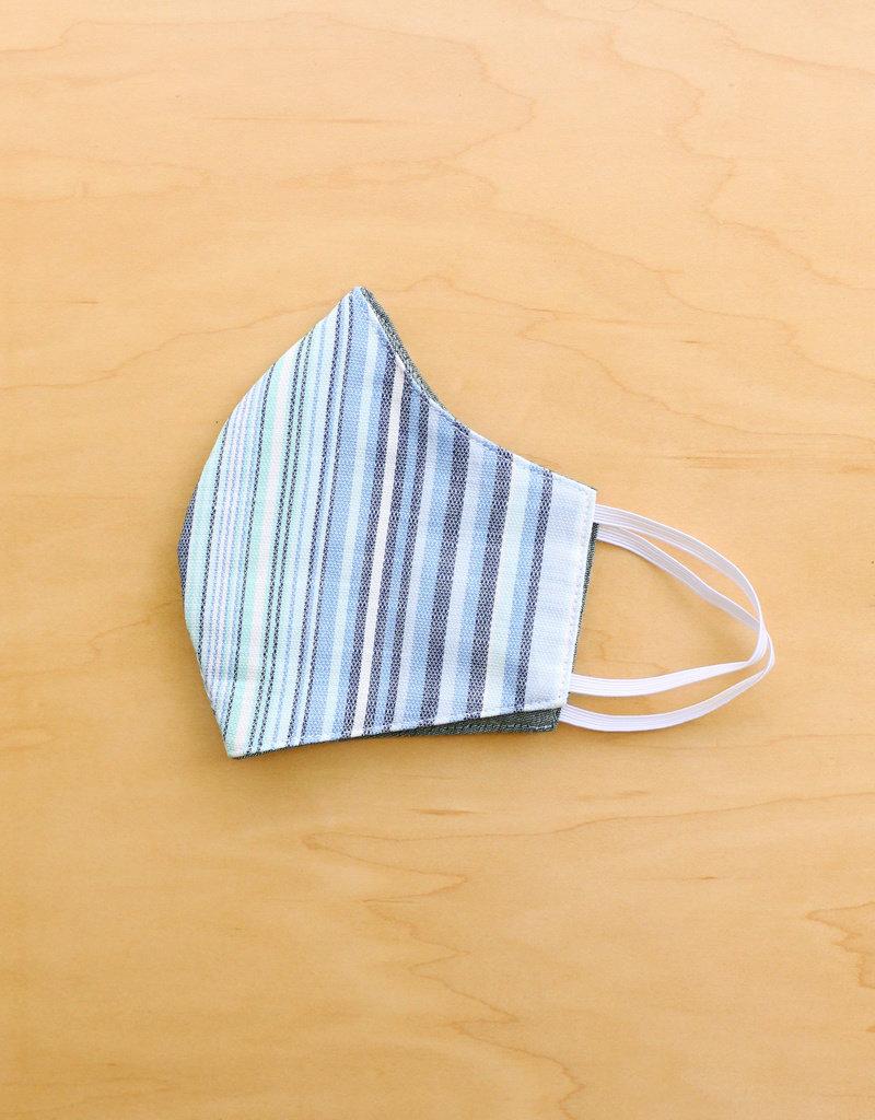 Malia Designs Ocean Stripe Face Mask