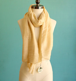 Cream Shawl