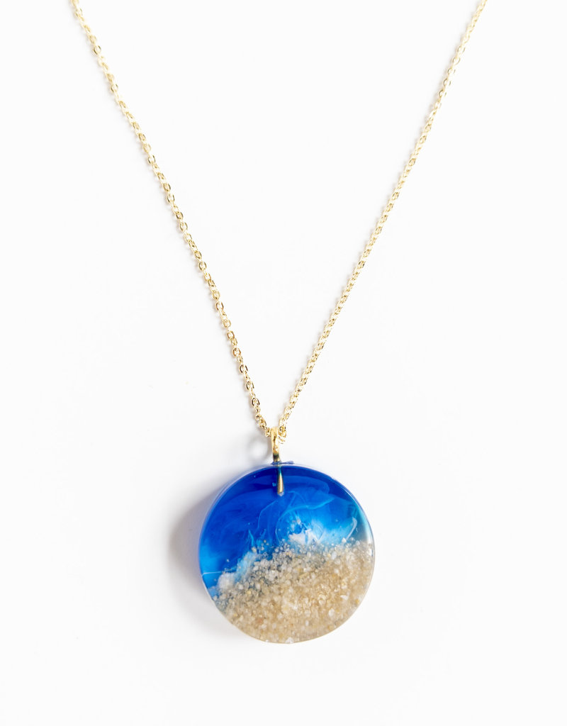 Belart Moon Ocean Necklace