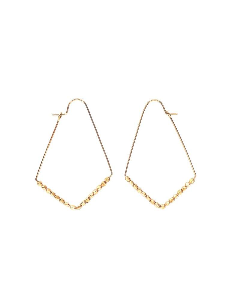 Purpose Jewelry Spark Hoop Earrings