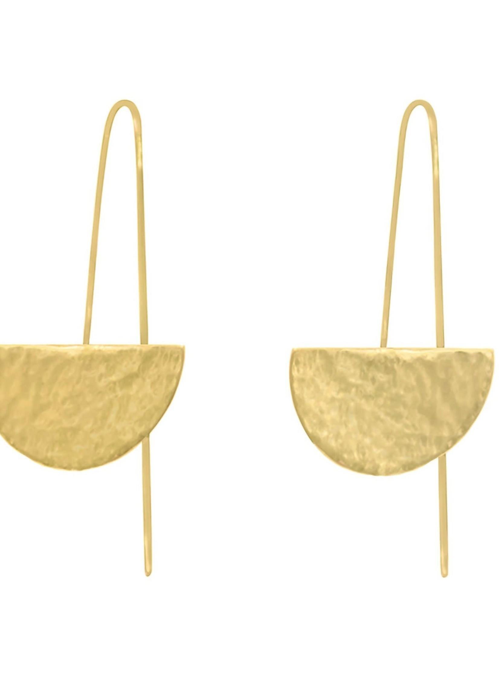 Purpose Jewelry Prima Threader Earrings