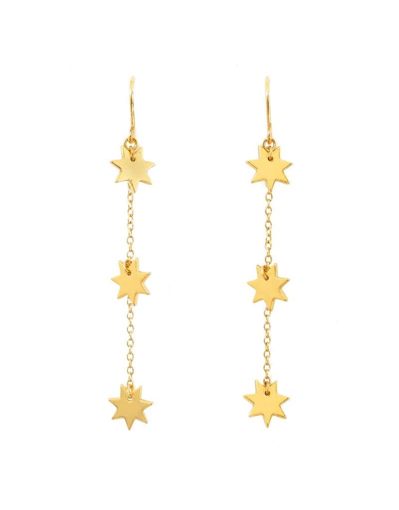 Purpose Jewelry Night Sky Threader Earrings