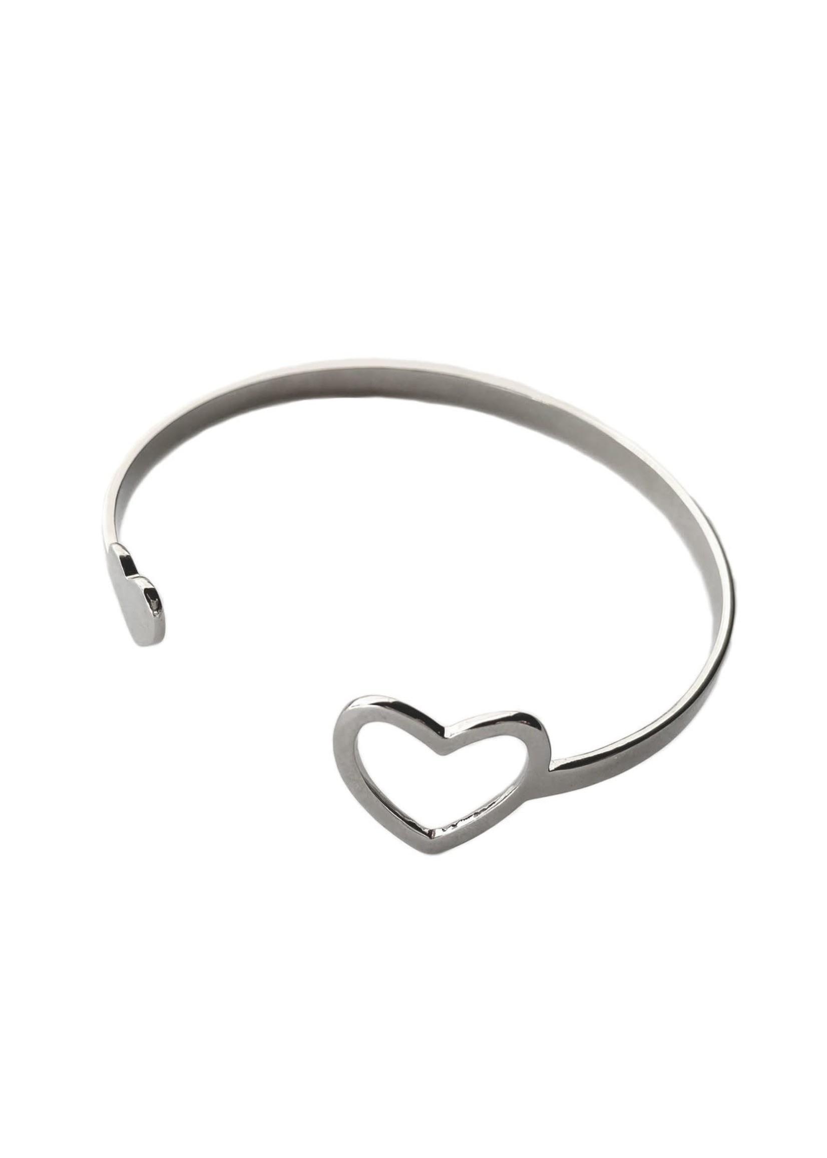 Purpose Jewelry Miracle Heart Cuff Bracelet