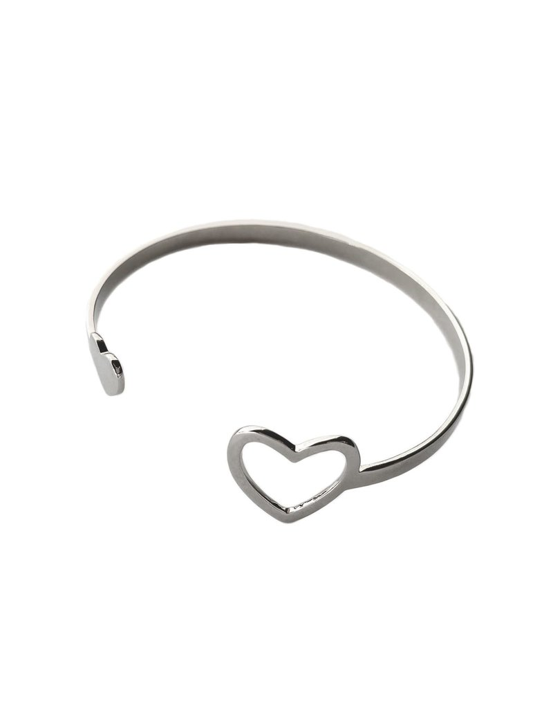 Purpose Jewelry Miracle Heart Cuff Bracelet