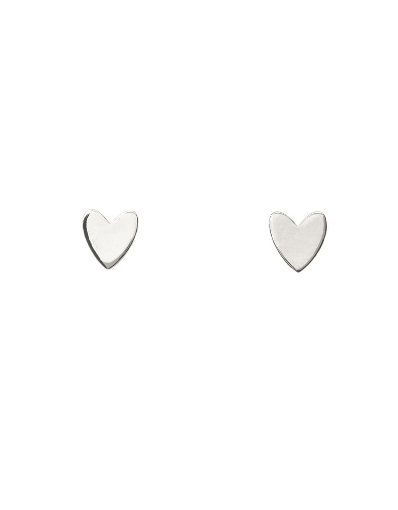 Purpose Jewelry Miracle Heart Stud Earrings