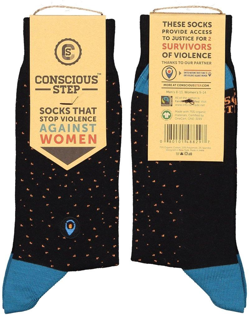Socks That Stop Violence Against Women (men's)