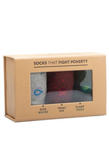 Box of Socks That Fight Poverty (men's)