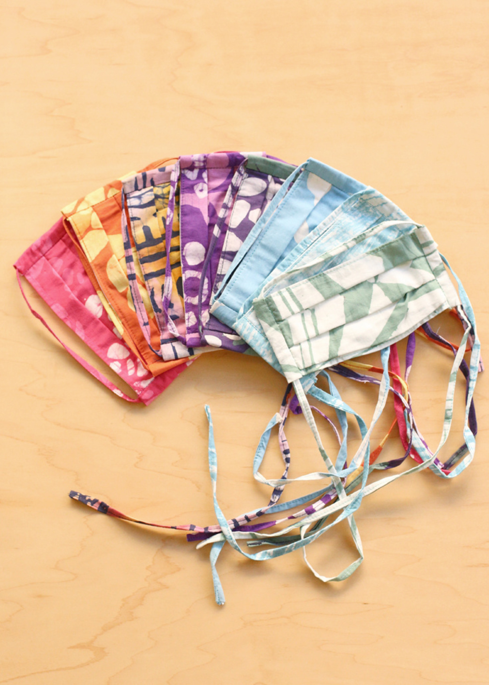 Global Mamas Kids Batik Face Mask