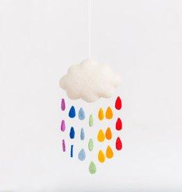 Craftspring Rainbow Drop Cloud Ornament