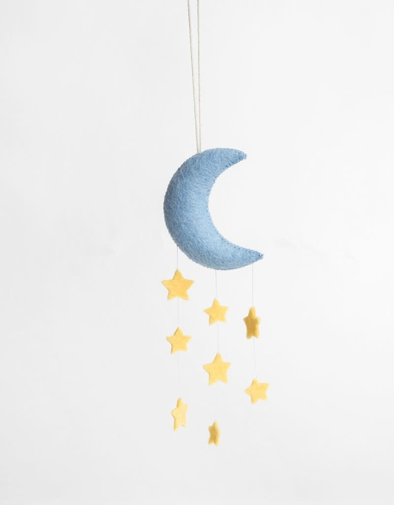 Craftspring Stardust Moon small Ornament