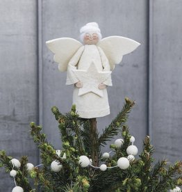 Craftspring Star Angel Tree Topper