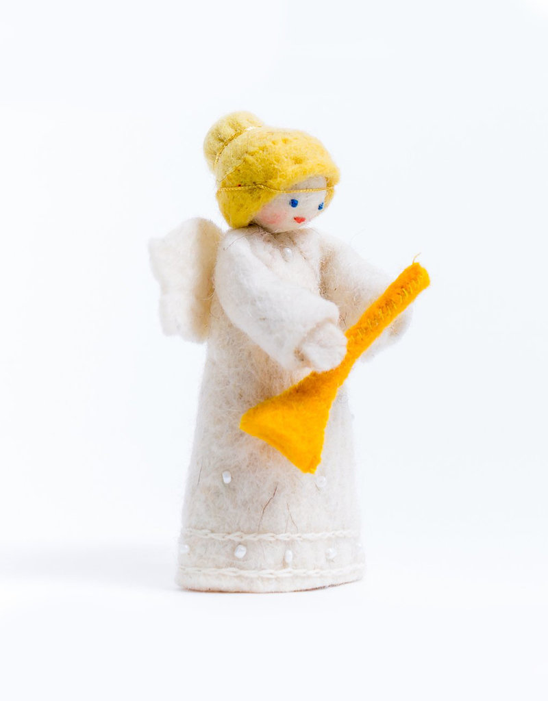 Craftspring Little Horn Angel Ornament