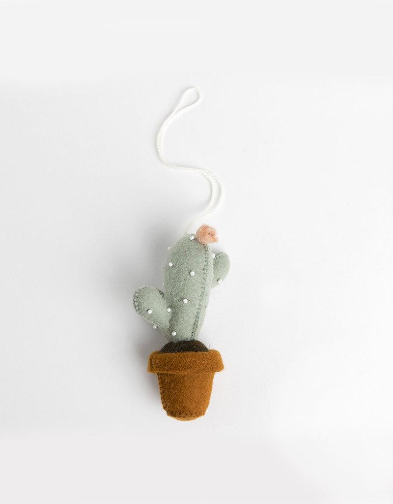 Craftspring Sunrise Blossom Cactus Ornament