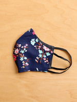 Malia Designs Dainty Floral Face Mask (reversible)