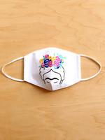 Lumily Embroidered Frida Face Mask
